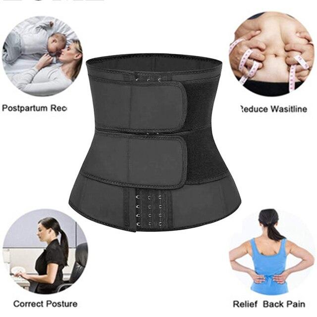 Neoprene Waist trainer body shaper plus size wasit trainer womens belly control sweat belt waist trainer new waste trainers 2