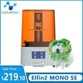 3d drucker NOVA3D Upgrade 3d Printer Elfin2 Mono SE 6' 2K Monochrome 130x75x150mm 3d Print Kit 405nm LCD UV Curing Printers