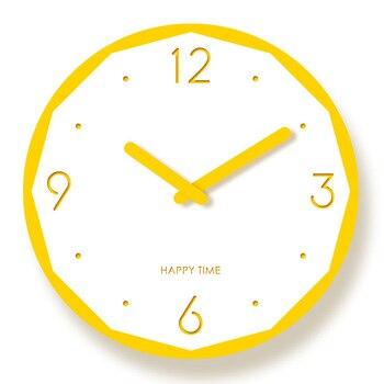 Creative White Wall Clock Kids Bedroom Cute Wall Watch Modern Design Wall Clocks Decorative Watches Living Room Clocks II50BGZ