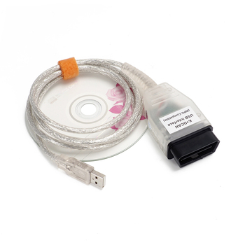 INPA K DCAN OBD2 Diagnostic Cable For BMW E60 E61 E83 E81 E87 E90 E91 E92 INPA K+CAN FTDI FT232RL Chip Support K Line image