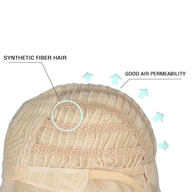 de cabelo sintético para meninos de 30 cm
