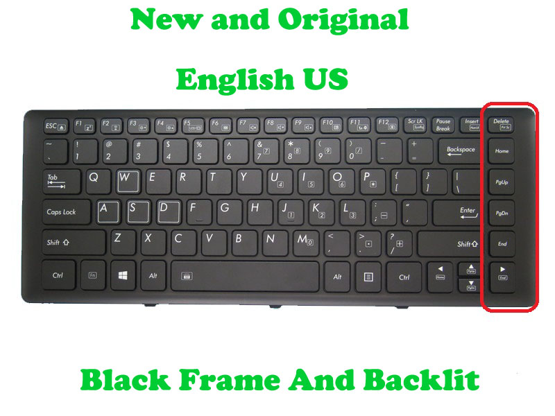 gigabyte u2442 keyboard - Backlit Keyboard For Gigabyte P34G V2 P34F V5 P34W V3 P34K V3 U2442D U2442F U2442S U2442N U2442T U2442V U24F U24T P34 English US