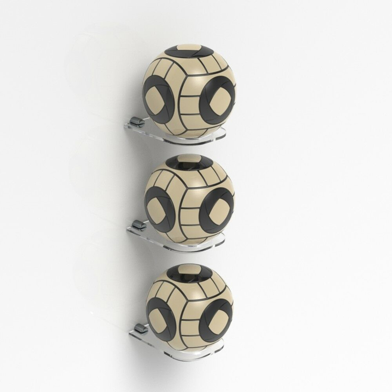 futebol bola titular rack de parede de
