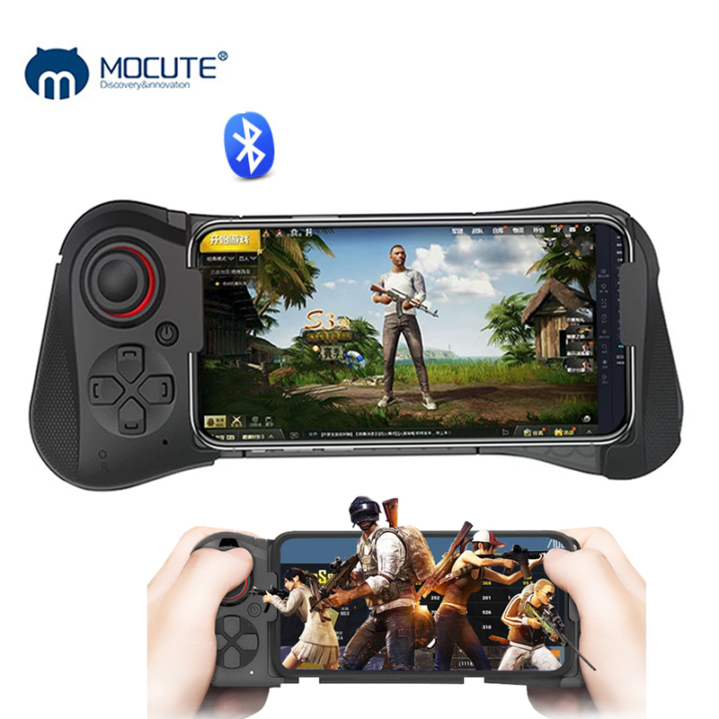 Mocute 058 Wireless Gamepad Joystick Bluetooth Fire Button PUBG Mobile Controller Trigger Gaming Shooter For Xiaomi For Iphone