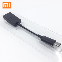 XIAOMI OTG Cable Type C USB Data Transfer Type C Male to Female Adapter for xiaomi mi 9 9T 8 Max 3 Mix 2S redmi note 8 7 K20(China)