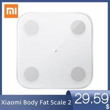 Original Xiaomi Mi Smart Body Fat Composition Scale 2 13 Body Date BMI Health Weight