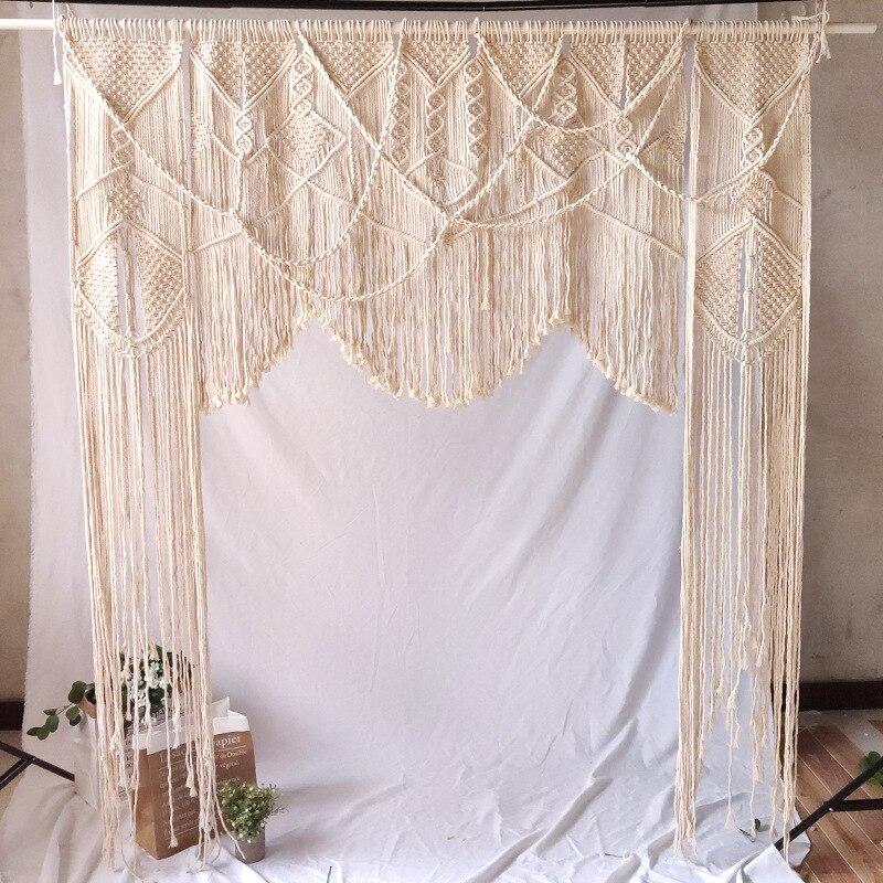 Hand woven wandteppich hochzeit szene decoration180 * 200cm Böhmischen vorhang hause dekoration wand hängende tapestry