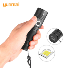New 12000 Lumens Led Flashlight XHP50 Powerful Flashlight 18650 Usb Torch Zoomable 5modes Led Torch Best for Camping Outdoor