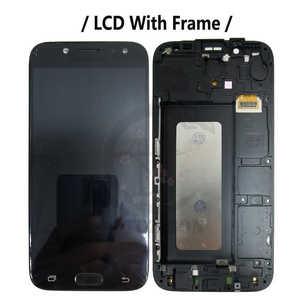 Image 2 - LCD עם מסגרת לסמסונג גלקסי J5 פרו 2017 J530 LCD J530F J530Y J530G J530FM תצוגת מסך מגע חיישן Digitizer הרכבה