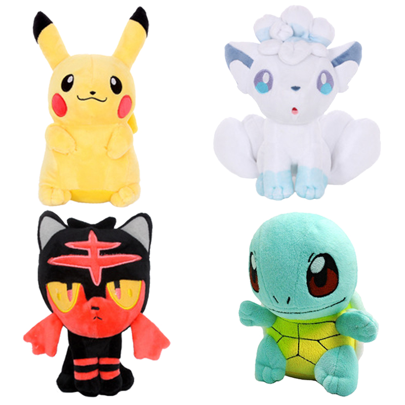 Pikachu Bulbasaur Squirtle Charmander Plush Toy Claw Machine Doll  Anime Peripheral Stuffed Festival Event Present School Gift