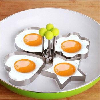 כלי נירוסטה להכנת ביצים או פנקייק