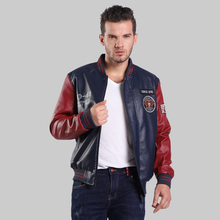 bomber men jacket college air force bomber jacket(China)