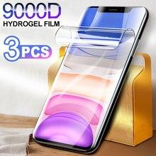 Protecteur d'écran pour LG Velours Hydrogel Film Sur LG V40 V30 Plus Q60 K50S K50 V 40 V30 Q 60 K 50S K 50 Pleine Couverture Film Protecteur