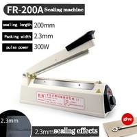 Hand Press Sealing Machine Small Commercial Food Film Household Plastic Sealing Machine Plastic Bag  Tea Heat Sealing Machine