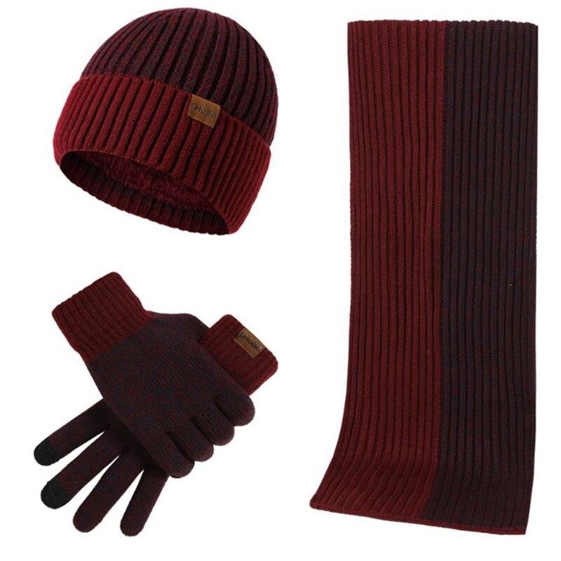 chapeau écharpe ensemble de gants