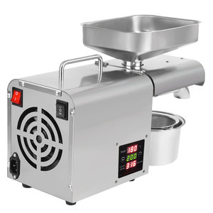 Image 5 - 110V/220V einstellen temperatur automatische kaltpressung öl maschine, öl kaltpressung maschine, sonnenblumen samen öl extractor, ölpresse