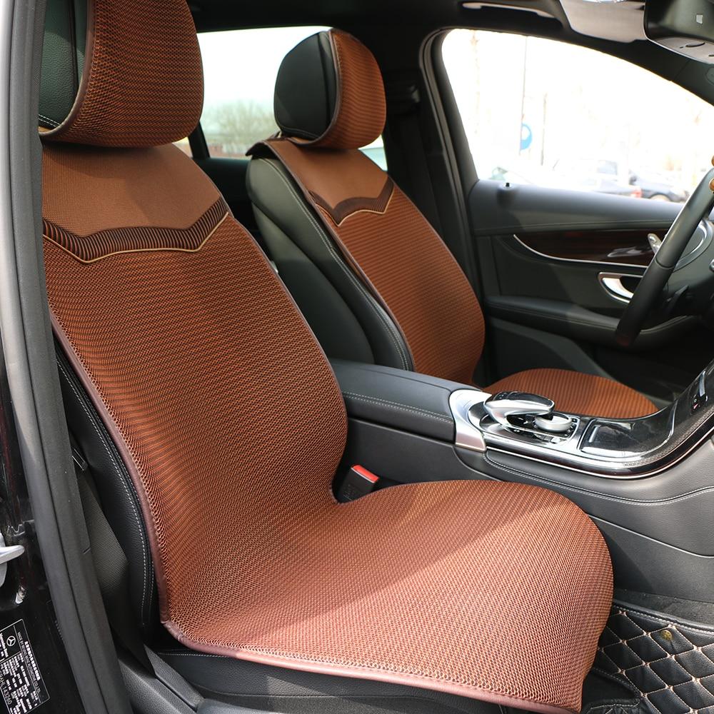 3D сетчатый чехол для сиденья автомобиля, чехол для автомобиля, дышащий плащ, авто, летний, крутой, один, передние сиденья, подушка, защита сал...