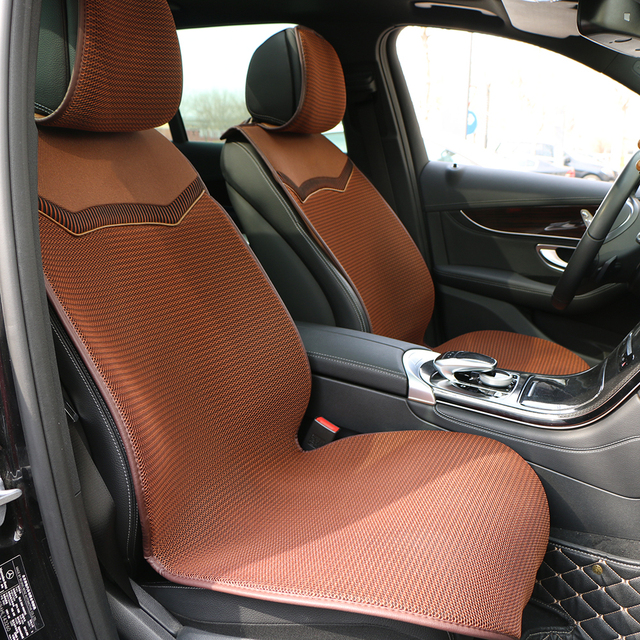 3D Air mesh car seat cover pad for cars Breathable cloak Auto summer cool single front seats cushion Protect Automobile interior