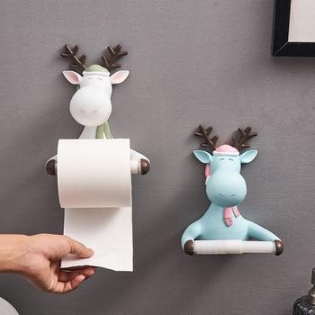Porte Papier Toilette Rigolo