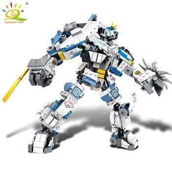"""Конструктор HUIQIBAO """"Робот-трансформер"""", 950 шт., 8 в 1 5"""