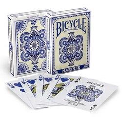 Cartões de poker da categoria mágica do papel de 88*63mm dos cartões de jogo do mariner da bicicleta para o mágico profissional