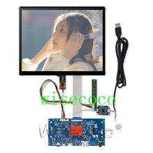 9.7 inç 2K 2048*1536 LP097QX1 SPA1 IPS Retina monitör ekranı LCD modülü dokunmatik panel kontrol panosu ahududu