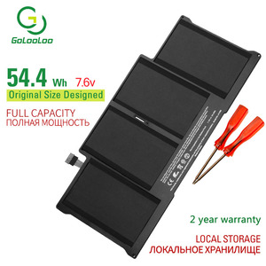 Golooloo 7.6v laptop Battery for Apple MacBook Air 13