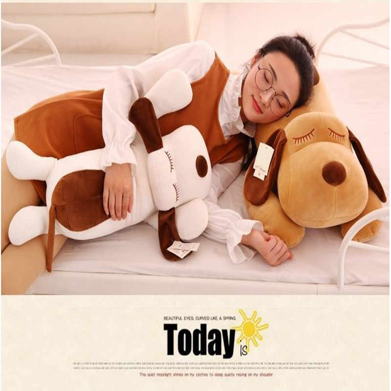 32cm pies śliczny lalka zwierzę miękki pluszowy zabawka jakość dziecko śpiące urodziny prezent dziewczyna dziecko dekoracja uspokoić lalkę