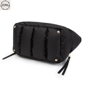 Image 4 - 2018 New Winter Space Bale Handbag Woman Casual Space Cotton Totes Bag Down Feather Padded Lady Shoulder Crossbody Bag