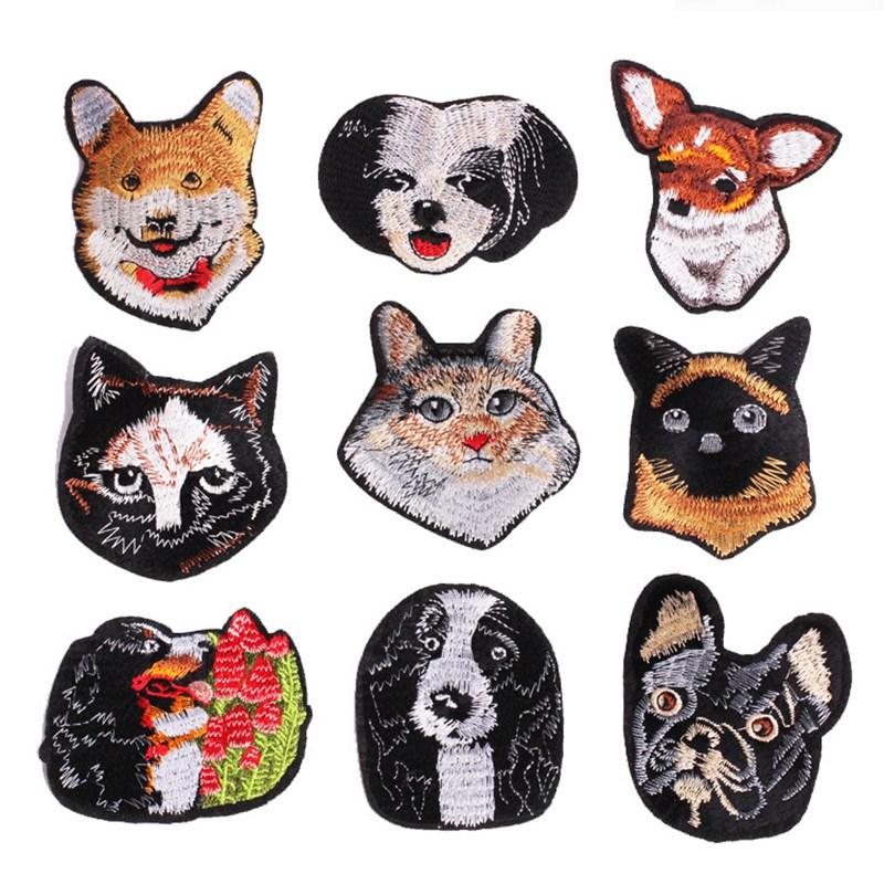 Cute Chihuahua Dog patch clothing patches decoration small applique iron on patc
