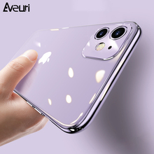 iPhone SE 2020 Luksusowe poszycie TPU silikonowe i etui na telefony dla iPhone SE 2020 SE2 6 6S 7 8 Plus etui na iPhone 11 Pro Max X XR XS Max etui tanie tanio Aveuri Aneks Skrzynki Plating TPU Back Case Apple iphone ów Iphone 6 Iphone 6 plus IPHONE 6S Iphone 6 s plus IPhone 7