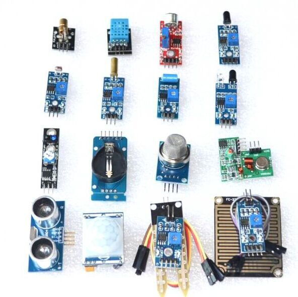 Raspberry Pi 2nd Generation B-type Raspberry Pi3 Ultrasonic Photosensitive Resistor Sound 16 Sensor Kit Ultrasound