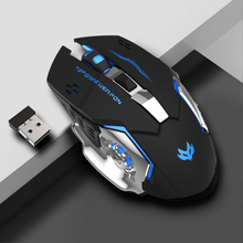 Wireless Rechargeable Mouse Mute Laptop Desktop PC Game with BOY'S And GIRL'S Mouse for Home & Office Use
