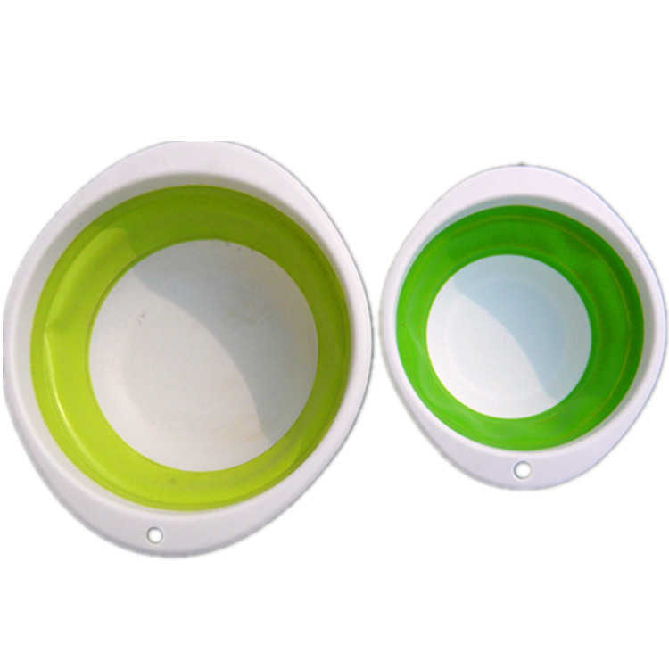 Foldable Basin Er Liao Pen Fishing Accessories Telescopic Folding Er Liao Pen Bait Fish Basket