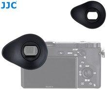 JJC-visor ocular giratorio de silicona de 360 ° para Sony A6100, A6300, A6000, NEX-6, cámara de NEX-7, ocular, sustituye a FDA-EP10