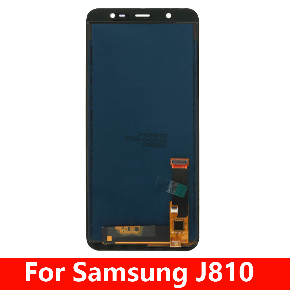 <font><b>LCD</b></font> For <font><b>Samsung</b></font> <font><b>J8</b></font> <font><b>2018</b></font> J810 J810FN SM-J810 <font><b>LCD</b></font> Display Touch Screen Digitizer Assembly Replacement image