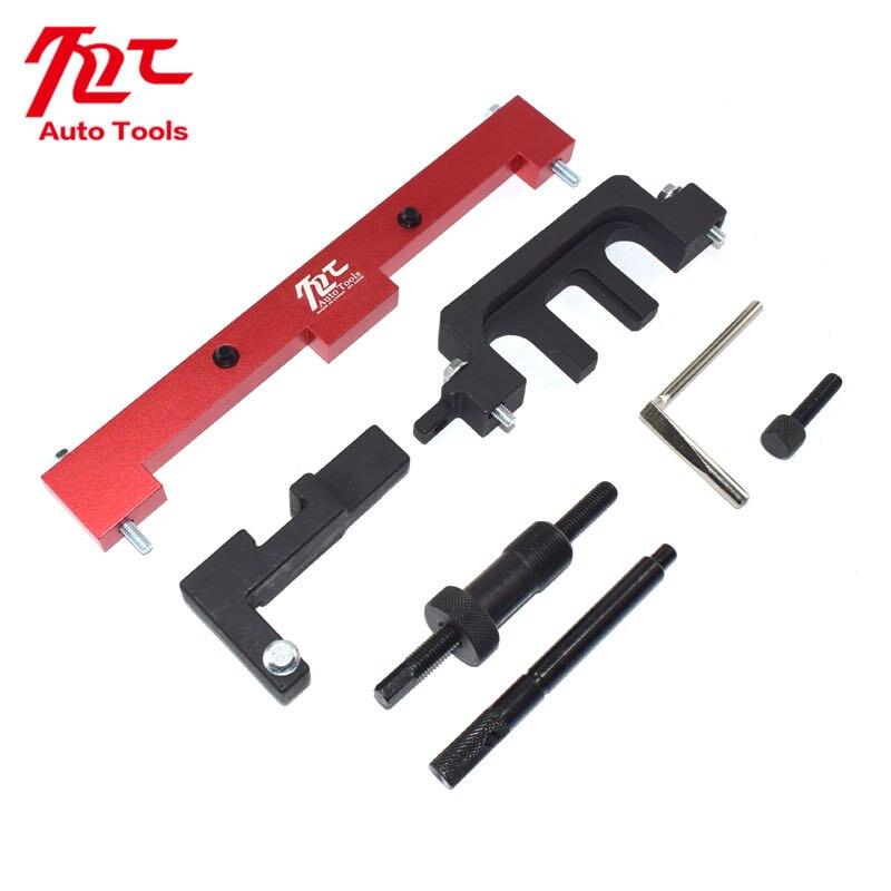 Купить с кэшбэком 8 Pcs Camshaft Timing Tool Kit For BMW 318I 320I 316I E87 E46 E60 E9 N42 N46 Engines