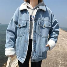 Bella Philosophy Winter Fur Denim Jacket Women Bomber Jacket
