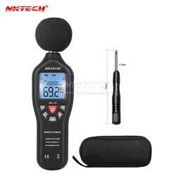 NK-D2 hz-31.5 khz vs ms6701 nktech 8.5 digitas lcd som medidor de ruído usb data logger nível automático variando 30-130db decibel frequência