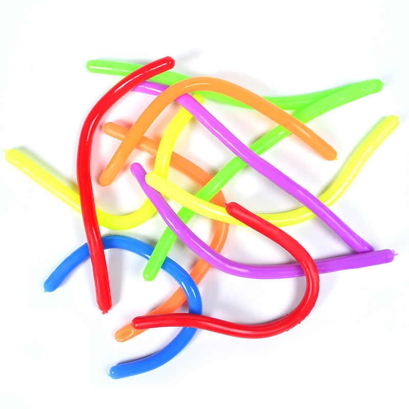 Antistress Hand Vent-Noodles Stress-Reliever Children Squeeze-Sensory-Toys Gift Colorful img3
