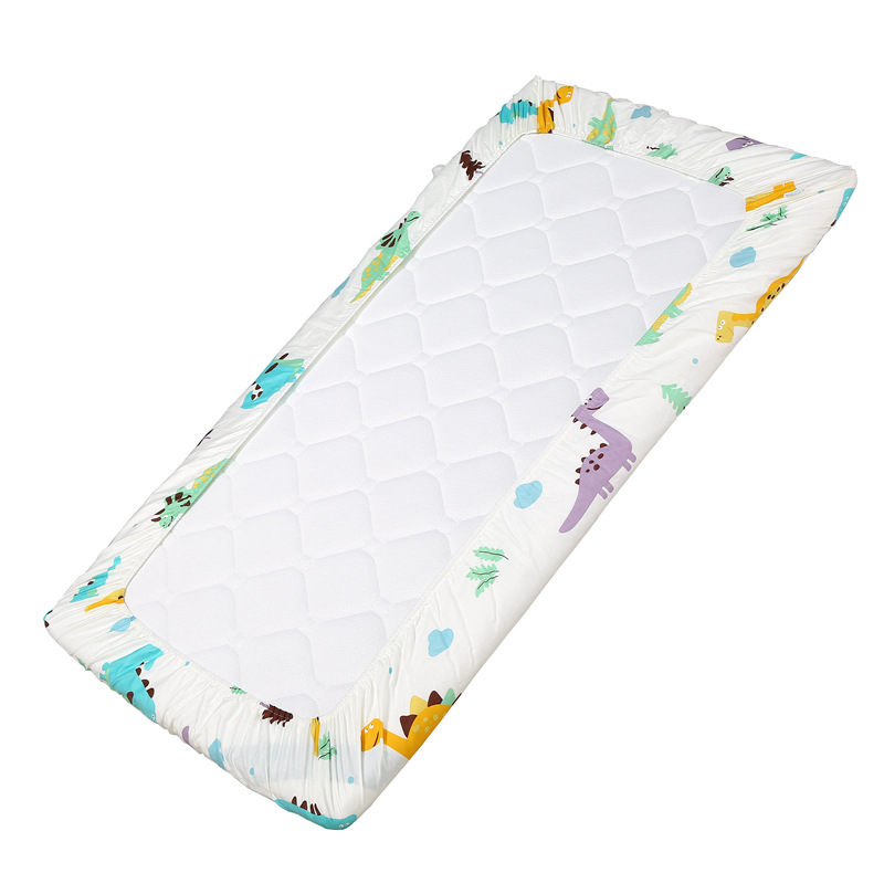 Crib Sheet Cotton Baby Mattress Protector Cover Newborn Baby Crib Sheets Bed Set Animals Boys Baby Girls Bedding Set 120x60cm