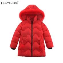 Baby Hoodies Jacket Outwear Winter Coat Long-Sleeve Girls Fashion Kids Children New Fur