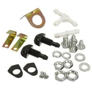 Image 5 - 12V przednia szyba samochodu podkładka zbiornik butelka z pompką zestaw dysza przedniej szyby przełącznik Jet łódź Auto Marine Clean Tools Kit