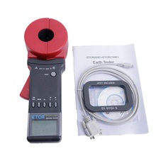 ETCR2000E+ Clamp-On Digital Ground Resistance Tester Clamp Earth Resistance Tester,Use For Architecture Electrical Equipment,Etc