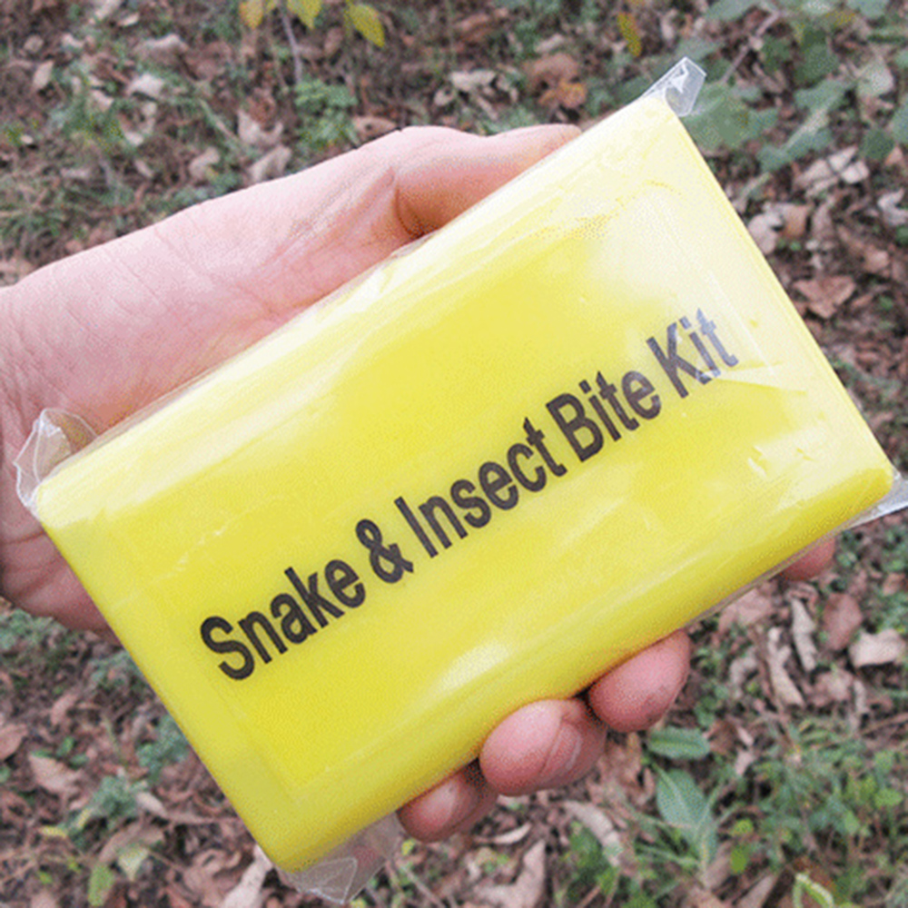 Great for Survival Kits and Camping Snake Bite Kit