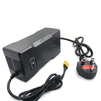 50.4V 4A 12S Smart Fast  Lithium Battery Charger For 44.4V 4A Lipo Li-ion Battery Electric Bike Power With CE  ROHS SAA