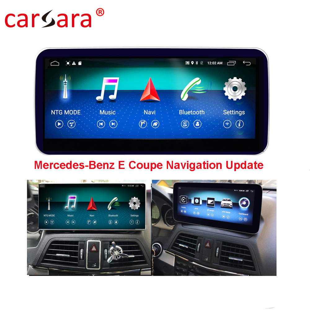 Android Car Deck Android Video Integration for <font><b>Mercedes</b></font> Ben z E Class Coupe A207 Convertible Right Hand Driving Available image