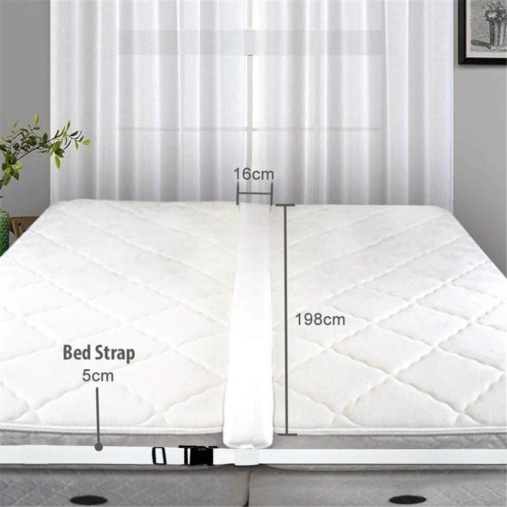 1 шт. соединитель для матраса для кровати, с двойным на король преобразователем, металлический наполнитель для зазора в кровать, два одиночн...