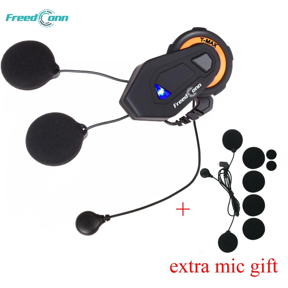 Freedconn T-MAX 1000 M Moto Bluetooth Headset Casque Intercom Interphone CH