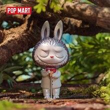 פופ מארט Labubu קונצרט יער סדרת צעצועי דמות פעולה איור מתנת יום הולדת ילד צעצוע משלוח חינם